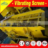 large capacity silica sand vibrating screen equipment