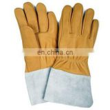 Cowhide suede Leather Gloves 707 working gloves