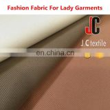 JC B2878 shaoxing plain dyed knit twill fabric 96 polyester 4 spandex fabric