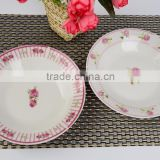 porcelain plates for decorationschristmas porcelain dinner set with color box ,design sushi dishes plates with good quality