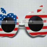 apple shape <b>plastic</b> <b>party</b> <b>glass</b>es