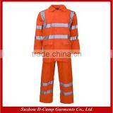 HVJ006 Water Resistant Rain Wear Fluorescent Suits