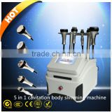 Ultrasonic Weight Loss Machine 40k Cavitation Ultrasonic Cavitation Radio Frequency 32kHZ Slimming Machine/belly Fat Burning Device/facial Rf Face