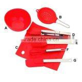 SS0019 / kids silicone baking set