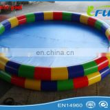 2015 colorful water pool inflatable/inflatable water pool toys/Circular inflatable water pool