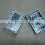 555 paper plastic coating playing cards