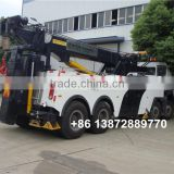 hot sale 340hp 12 wheeler brand new 60 ton heavy duty rotator tow truck