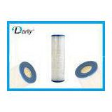 Professional Plastic Spa Cartridge Filter , Exceptional Dirt - Holding Capacity