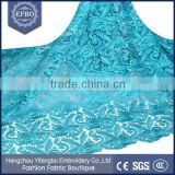 2016 teal designer laces <b>ladies</b> <b>suits</b> chemical lace designs alibaba <b>wedding</b> dress cord embroidery fabric