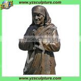 High quality life size bronze religious statues Mother Teresa statues