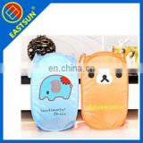 new promotio cute 190t printed household laundry hamper/Laundry Bags & Baskets