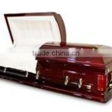 Weston wood veneer casket