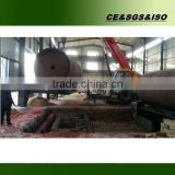 Highly praised equipment old tyre waste rubber plastic recycling machine