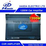 Digital higher power Car Amplifier of 4XCH 1200W
