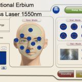 1550nm Fractional Erbium Glass Laser For Skin Resurfacing , Anti Wrinkle Machine