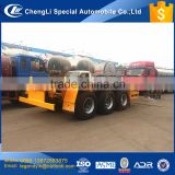 CLW9401TJZ 3 axle 12.00-20 tires 60 tons load capacity container transport semi trailer