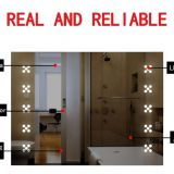 backlit led light mirror,lighting fixture for bathroom mirror,led mirror