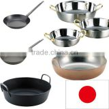 Easy to use and High quality stainless steel dosa pan frying pan pan with multiple functions made in Japan