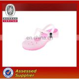 Children's beautiful transparent classic leisure hollow convenient great quality clogs