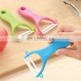 Food grade ABS plastic handle safe ceramics vegetable peel zester for peel cutting