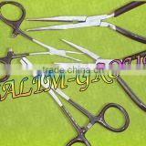 "5 1/2"" Stainless Scissor Pliers FISHING HEMOSTAT 4 PCS"