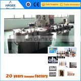 1 litre plastic bottle filling capping and labeling machine