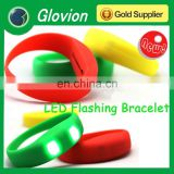Glovion beautiful color led flashing bracelet candy color led flashing bracelet led sports led flashing bracelet