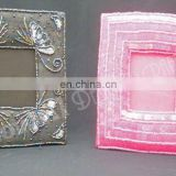 Beaded Embroidery Photo Frame Pictures Frames