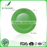 Green technology Food grade Professional Bamboo Fiber Plates