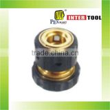 "3/4""brass hose connector with tpr coated"
