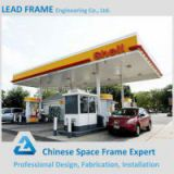 Steel Structure Space Frame for gas station canopy