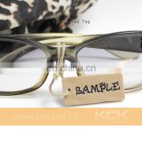 sunglasses 2016 customized tag,customized jewelry tags