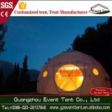 steel frame PVC hotel geodesic dome tent for sale