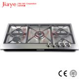 Stainless steel gas hob/Built in 5 burner gas cooker JY-S9072