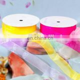 2015 best selling flower bownot decoration ribbon bottle decoration ribbon