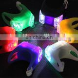 Factory direct price Colorful Silicone bicycle LED light
