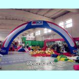 Custom Door Advertising Inflatable Arch for Event Entrance
