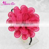Fashion Knitted Fabric Bridal Flower Hairband