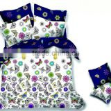 microfiber <b>fabric</b> butterfly design <b>duvet</b> <b>cover</b> set