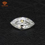 Marquise shaped VVS1 DEF off white diamond color moissanite low price wholesale for US market