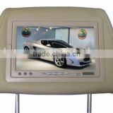 Connect with Car DVD VCD 7 inch Headrest Monitor Pillow