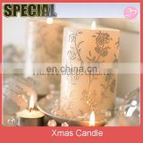 Easy and Elegant Christmas Candle Decorating