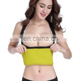 Waist Trainer Hot Sweat Slimming Neoprene Shirt Vest Body Shapers Shapewear for Women No Zipper Black#BY-21