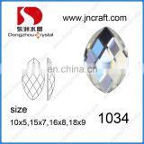 China Wholesale Glass stone Jewelry Bead Fancy Stone for garment accessories
