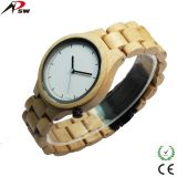 Maple wood watches 2035 quartz movement whole wood material watches