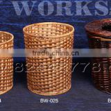 Bamboo products,bamboo trash bin,garbage bin,guest room article