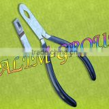 RING CLOSING PLIERS BODY PIERCING SURGICAL TOOLS WITH BLACK GRIP