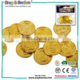 2016 Hot Selling 32 pcs Halloween party favor plastic pirate coin