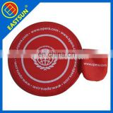 Logo Printing Foldable Frisbee With Pouch