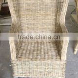 FURNITURE CHAIR WITH CUSHION, WATER HYACINTH REST CHAIR